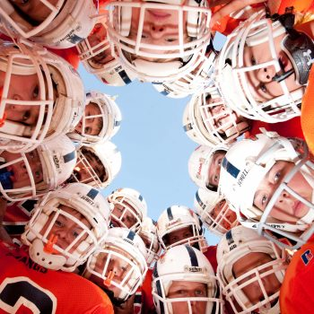 little league huddle