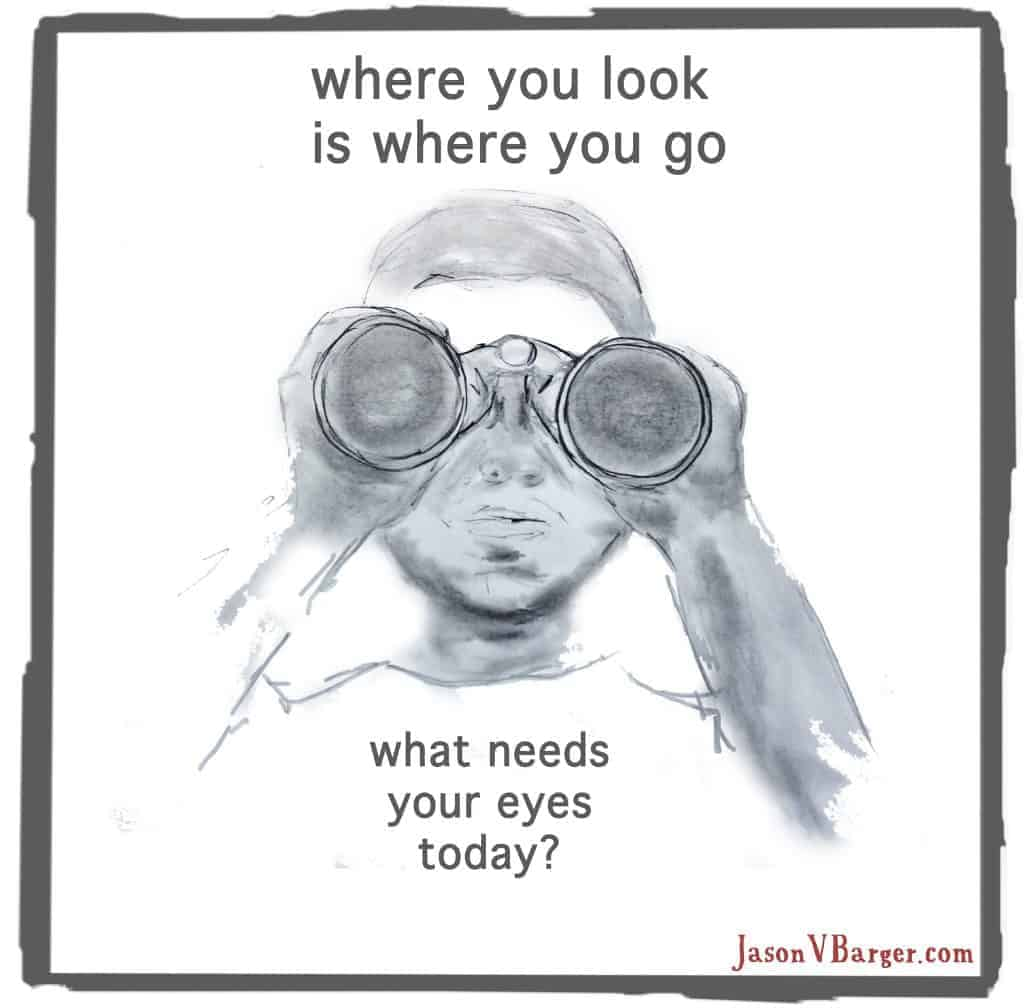 where you look is where you go