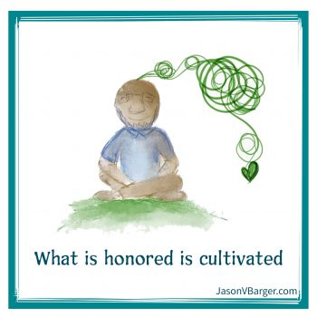 What is Honored Will Be Cultivated