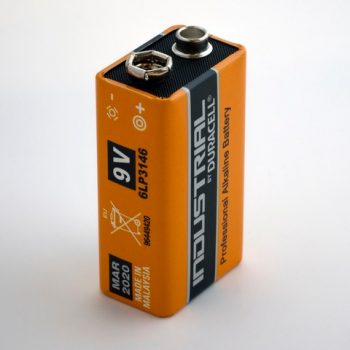 Positive Mindset picture of a battery