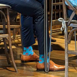 Greg Oden's socks